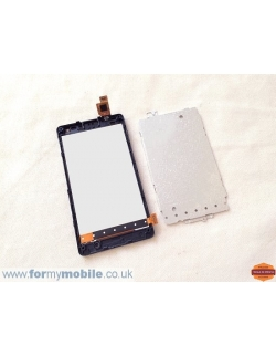LCD LUMIA 435 COMPLET AVEC CHASSIS