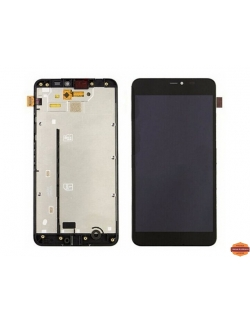 LCD LUMIA 640 RM1077 MICROSOFT COMPLET AVEC CHASSIS