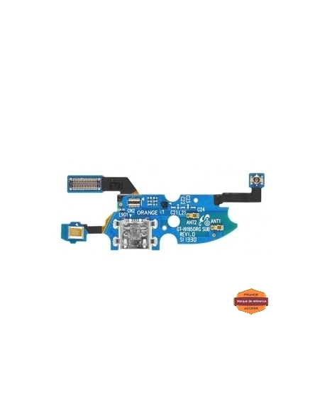 Grossiste piece detachees:SAMSUNG GALAXY S4MINI GT-I9195 - CONNECTEUR DE CHARGE + MICRO