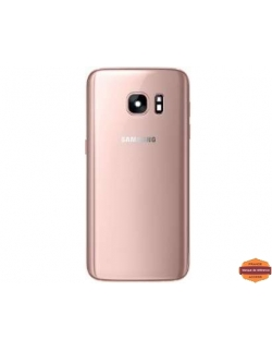 VITRE ARRIERE GALAXY S7 EDGE (SM-G935F) -PINK