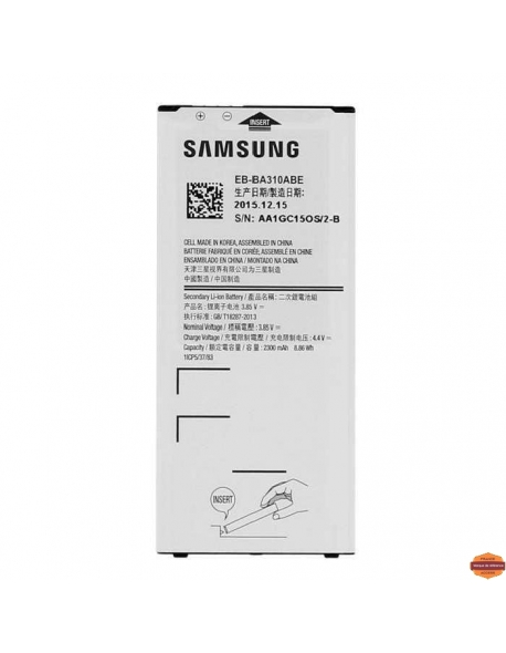 Grossiste piece detachees:BATTERIE SAMSUNG A3 2016
