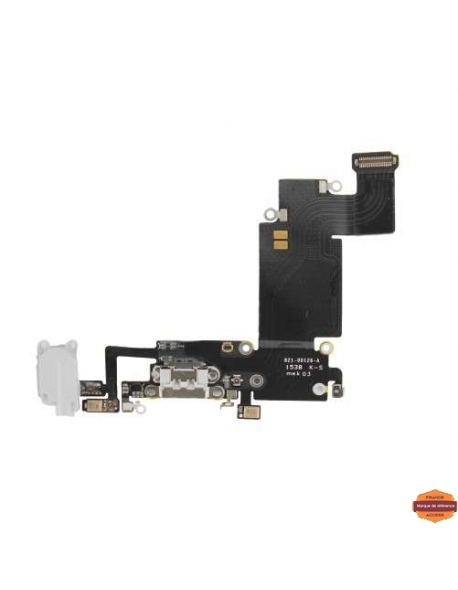 Grossiste piece detachees:CONNECTEUR DE CHARGE IPHONE 6S PLUS BLANC