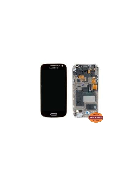 Grossiste piece detachees:ECRAN D ORIGINE SAMSUNG GALAXY S4 MINI GT  I9195