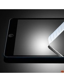 FILM IPAD 2 / 3 ET 4 EN VERRE TREMPE 2.5D ULTRA FIN 0.3MM INCASSABLE (TEMPERED GLASS)