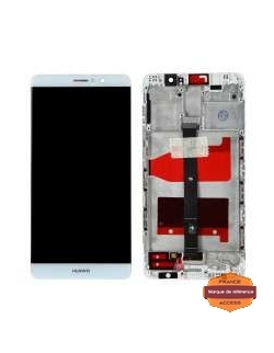 LCD HUAWEI MATE 9 BLANC AVEC CHASSIS