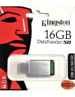 CLÉ USB KINGSTON DATATRAVELER 50 USB-STICK 16GB