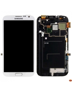 LCD SAMSUNG GALAXY  NOTE 2 / N7100 RECONDITIONNE BLANC