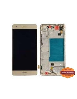 LCD HUAWEI P8 LITE GOLD AVEC CHASSIS