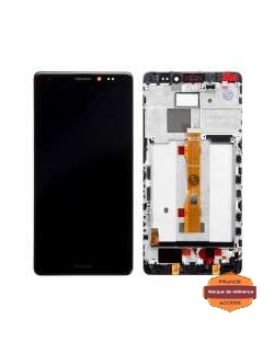 LCD HUAWEI MATE S NOIR AVEC CHASSIS