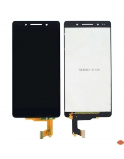 LCD HUAWEI HONOR 7 NOIR AVEC CHASSIS